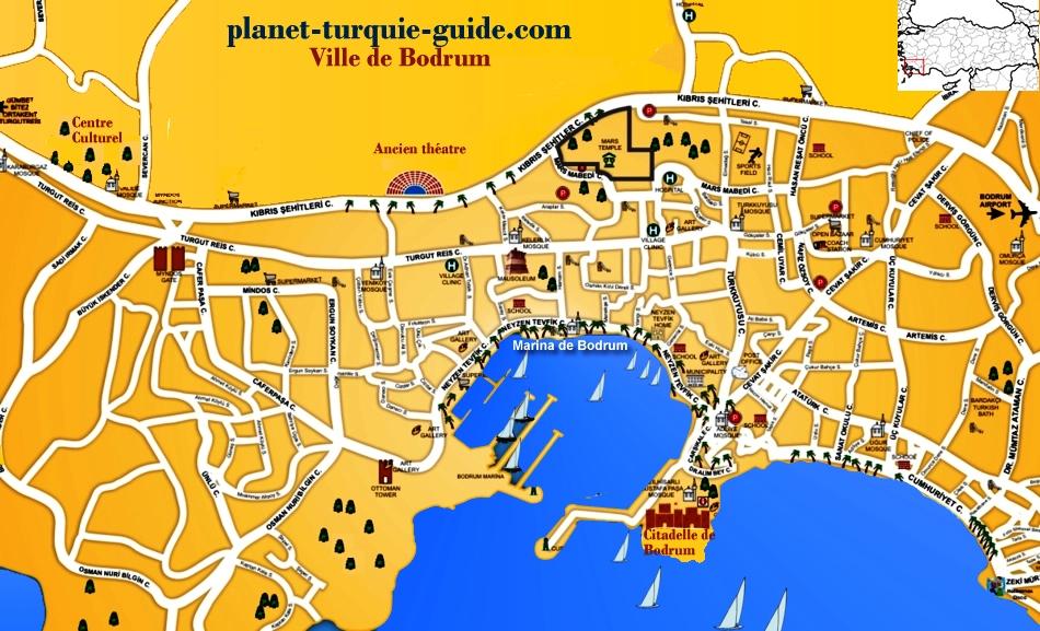 Turquie Guide Touristique Bodrum