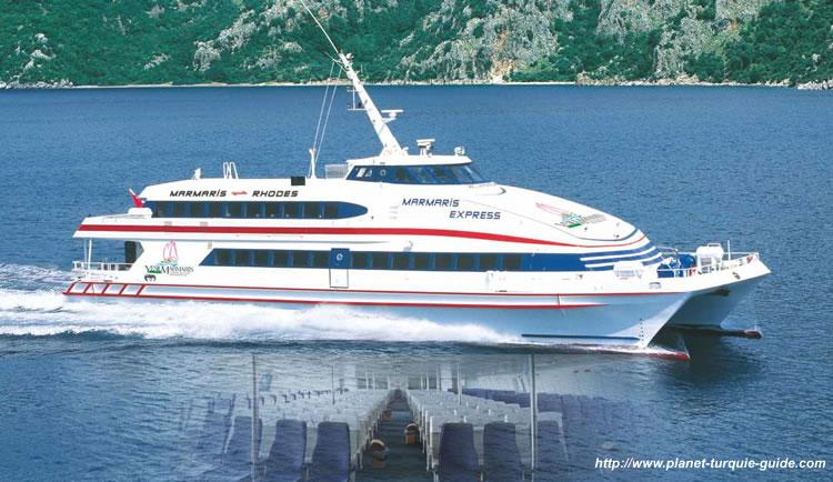 bateau grece